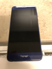 Blue Honor 8 android smartphone 6560 km