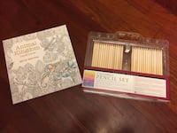 New colored pencils and adult coloring book from Barnes and nobles  Weymouth, 02189