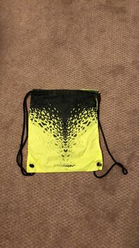black and yellow leather wristlet 30 km
