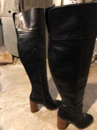 Size 7 leather boots only wear once Edmonton, T5T 5X2
