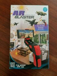 Air Blaster Cell Phone Gaming System