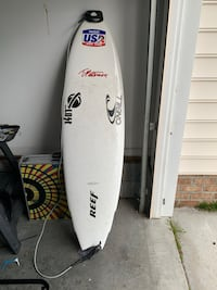 Surf tech Tuflite limited Edition Patterson signature series surfboard