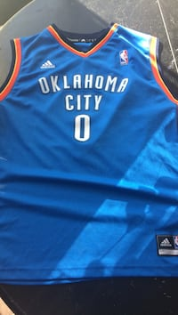 6afca62c703 Used Russell Westbrook- OKC jersey. Size is boys Large for sale in ...