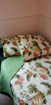 Twin bed quilt & shams Olney, 20832