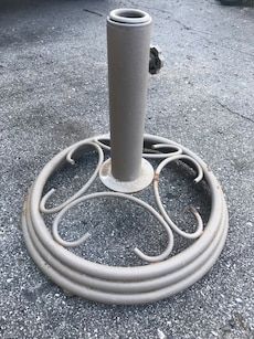 Heavy Steel Umbrella Base