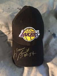 SIGNED Horace Grant LA Lakers Adjustable Hat - EXCELLENT condition! Santa Monica, 90404