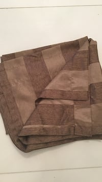 brown/ taupe strip curtain East Gwillimbury