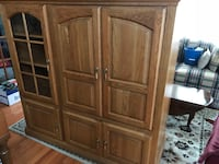 brown wooden cabinet with drawer Ellicott City, 21043