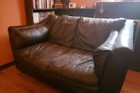faux leather love seat Barrie, L4M 6M7