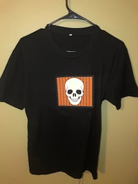 Led sound activated light up shirt