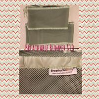 Breathable bumper for baby crib, green West Palm Beach, 33401