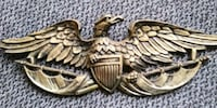 GENUINE BRASS EAGLE WALL HANGING Independence, 64052