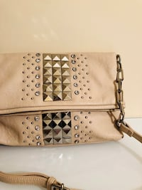 Women's beige  leather sling bag Rockville, 20852