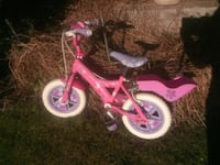 toddler's pink and purple floral bike Rassau, NP23 5SN