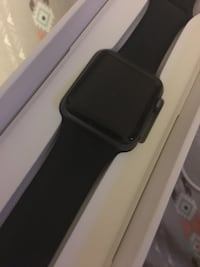 Black apple watch with black sports band Fort Pierce, 34982