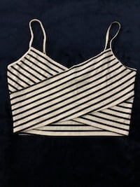 Stripe Crop Top Las Vegas, 89104