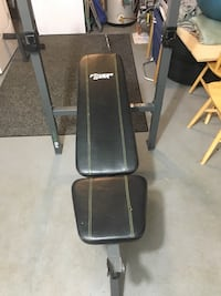 Black Fitness bench press Medford, 02155