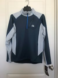 Men's Size Medium 1/4 Zip Up Extreme Performance Gear Andover, 01810