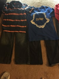 3 like new cap outfits only worn a few times size 10 10/12 Cedar Rapids, 52402