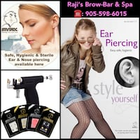 Beauty services EAR PIERCING SERVICES AVAILABLE  Toronto