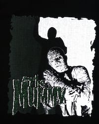 THE MUMMY, YOUTH SIZE T-SHIRT VINTAGE AND RARE! HORROR FILM, MOVIE Toronto