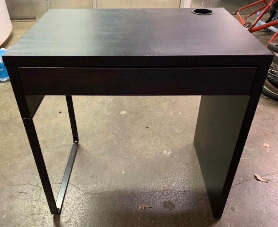 Photo Black Micke Ikea Desk
