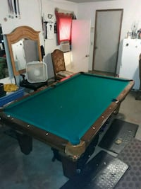 Must see like new pool table and ping pong table