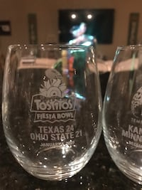 Tostitos Fiesta Bowl and Insight Bowl glassware