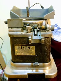 Klopp Electric Coin Counter Rock Hall, 21661