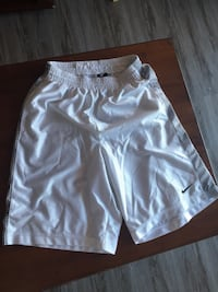 white and black Nike jersey shorts Ames, 50014
