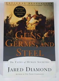 Guns, Germs, and Steel     Book Barrie, L4N 7L8