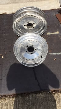 Centerline wheels 15x3-1/2x 4-3/4 Chevy bolt pattern