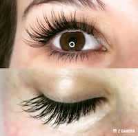 Eyelash extensions $50 full set London