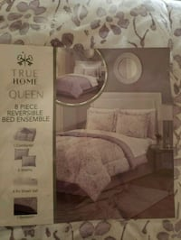 white and pink floral bed sheet set pack Roy, 84067