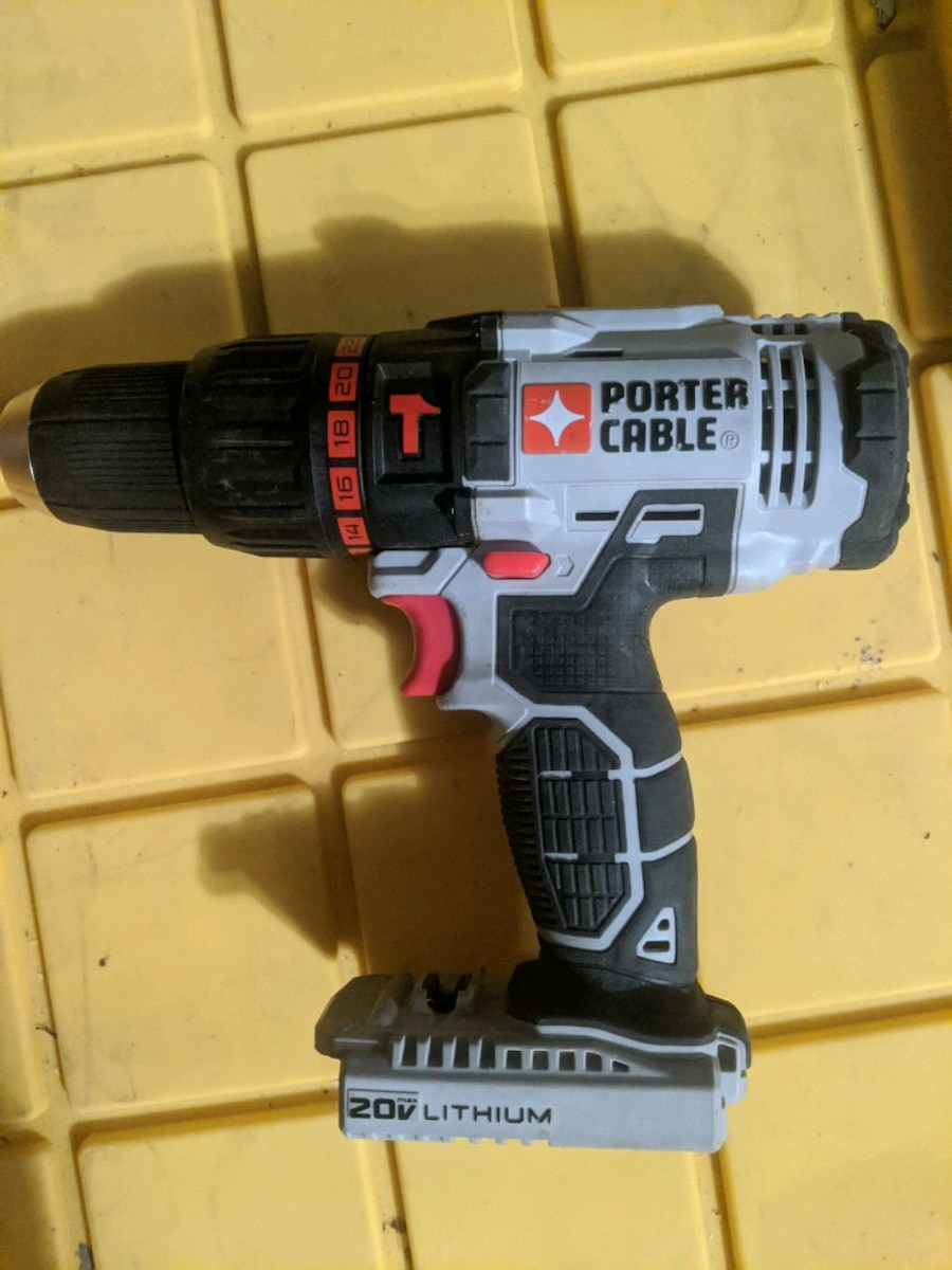 Photo PORTER CABLE HAMMER DRILL