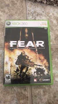 Xbox FEAR Scratch less cd Houston, 77073