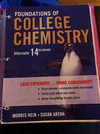 Foundations of college chemistry Alternate 14th edition  Puyallup, 98375