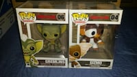Gremlins pop vinyls (selling as a set)  Toronto, M1L 2T3