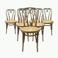 48 Antique Radomsko Cafe Bentwood Thonet Chairs Mobile, 36605