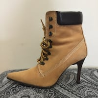 Greenwich village timberland style high heeled boots Vaughan, L4H 3V7