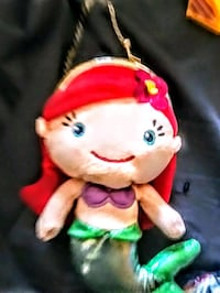 "DISNEY THE LITTLE MERMAID: Mini Plush ""ARIEL"" Girl's Coin Purse"