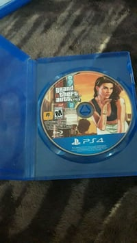 PS4 Grand Theft Auto 5 game disc Long Beach