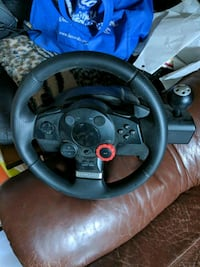 Logitch Steering Wheel (With Pedals) San Jose, 95118