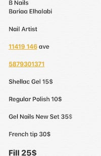 Text me anytime to make appointment