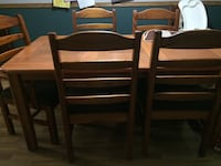 Dinibg table and 6 chairs set Omaha, 68138