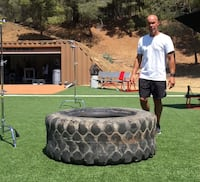 Large selection of Crossfit spartan training tires Los Angeles, 91331