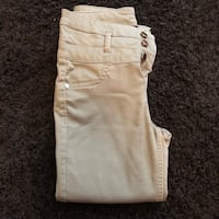 Green khaki high waisted pants Orchard Hills, 21742