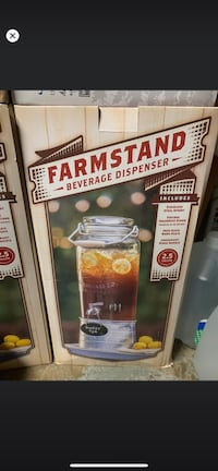Farmstand Becerage Dispenser