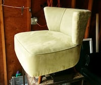 Vibrant lime green mid century modern swivel chair Lake Oswego, 97035