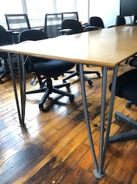 Good condition office meeting room tables for sale MARKHAM